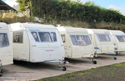 TOURING CARAVANS FOR HIRE